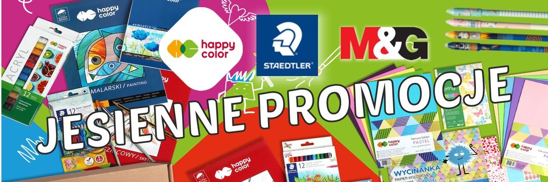 Jesienne PROMOCJE w Happy Color